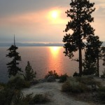 Smokey Sunset I